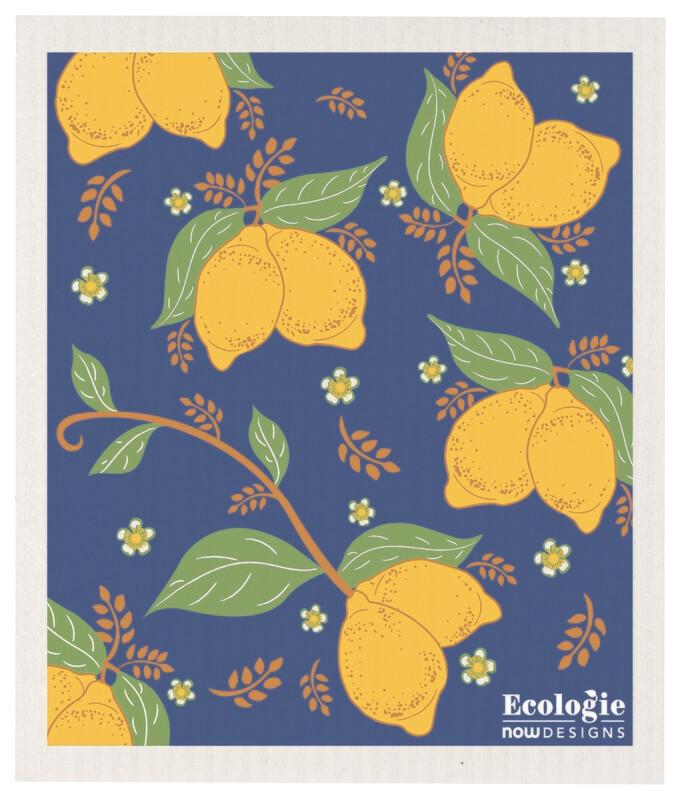 Lemons Swedish Dish Cloth