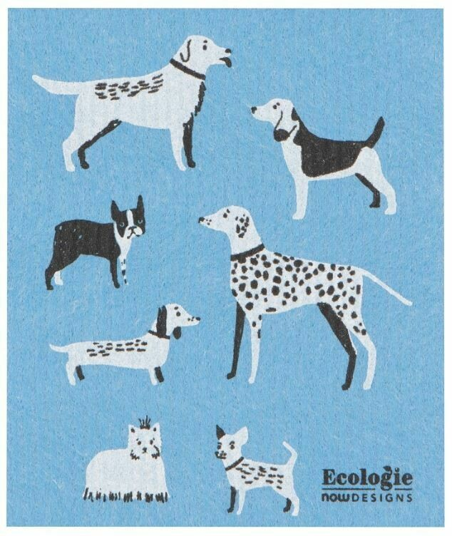 Dog Days Swedish Dish Cloth