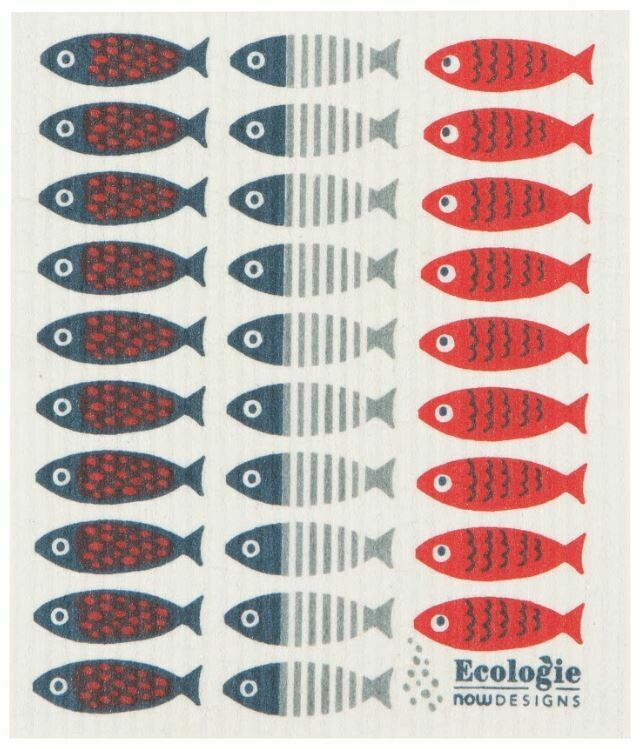 Little Fish Swedish Dish Cloth