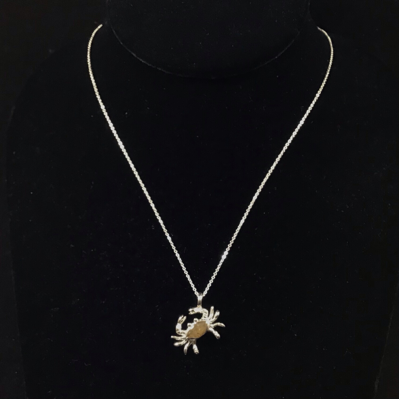 Dune Jewelry- Crab Necklace