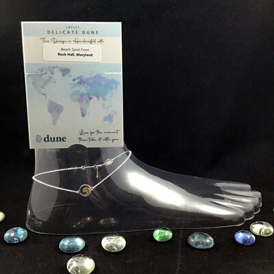 Dune Jewelry- Delicate Dune Wave Anklet