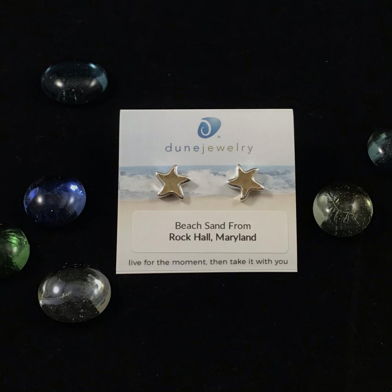 Dune Jewelry- Starfish Sand Jewel Earrings