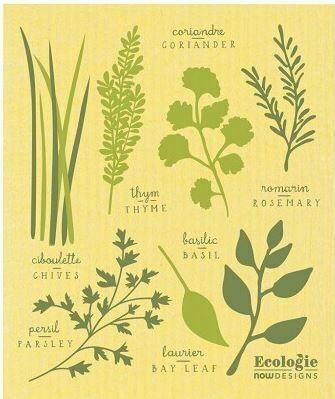 Les Fines Herbs Swedish Dish Cloth