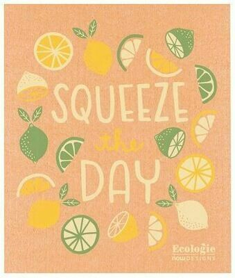 Squeeze the Day Swedish Dish Cloth
