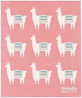 Llama Swedish Dish Cloth