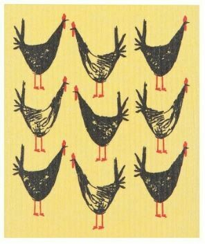 Chicken Swedish Dish Cloth