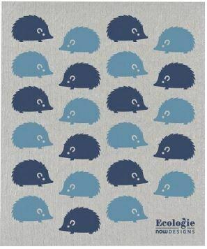 Happy Hedgehog Swedish Dish Cloth