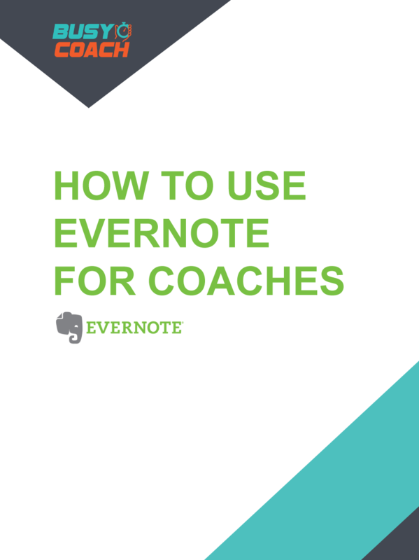 How To Use Evernote For Coaches by Theresa Beeckman