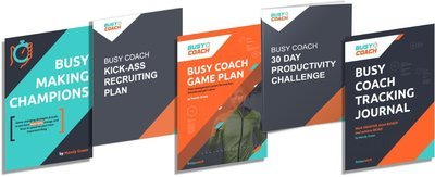 80% OFF 5 BUSY COACH DIGITAL BOOK BUNDLE!