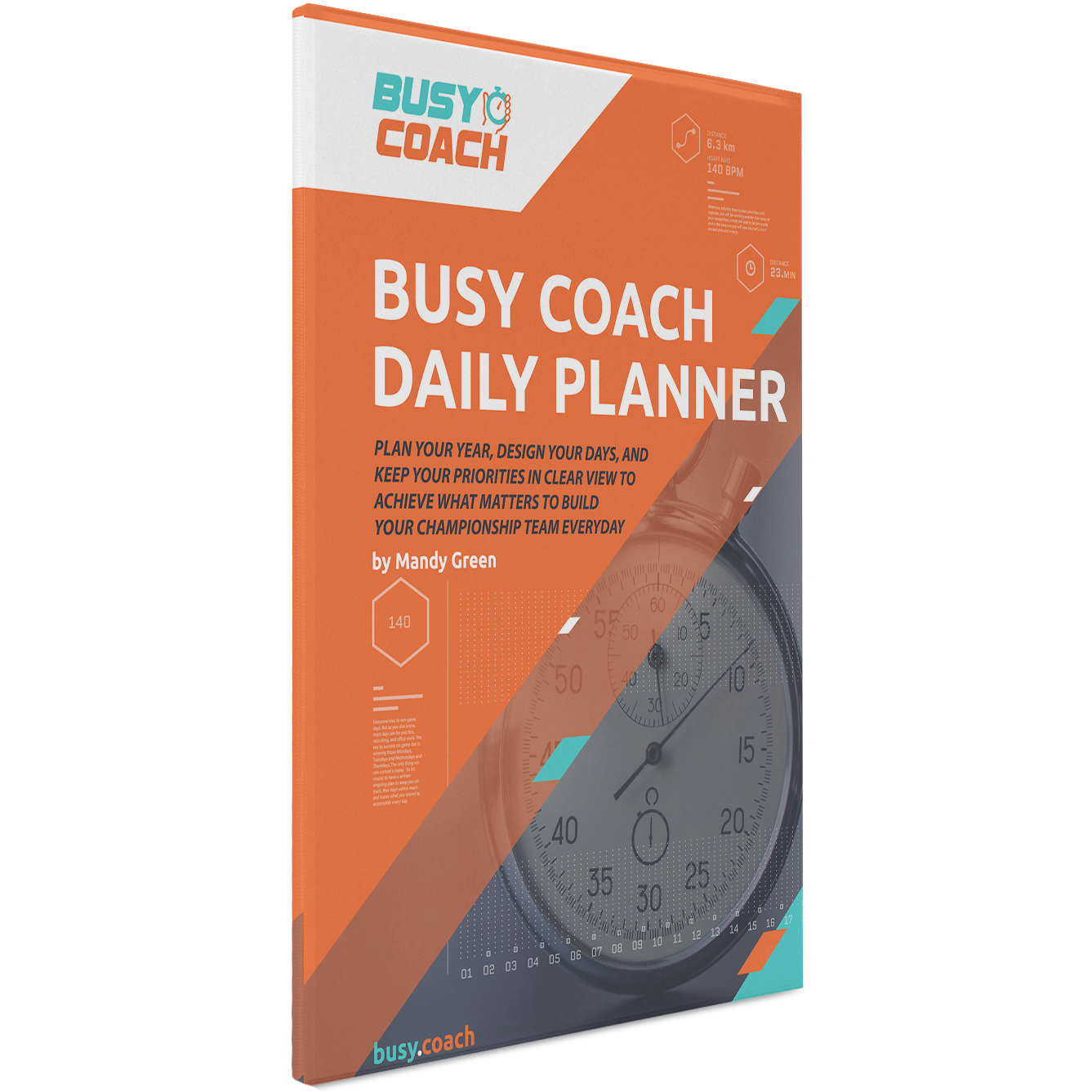 Daily Planner for College Coaches