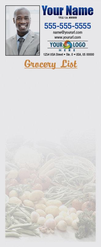 Full Color Custom Notepads | Vegetable Assortment