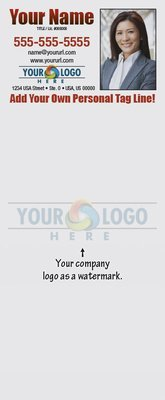 Full Color Custom Notepads | Logo as Watermark