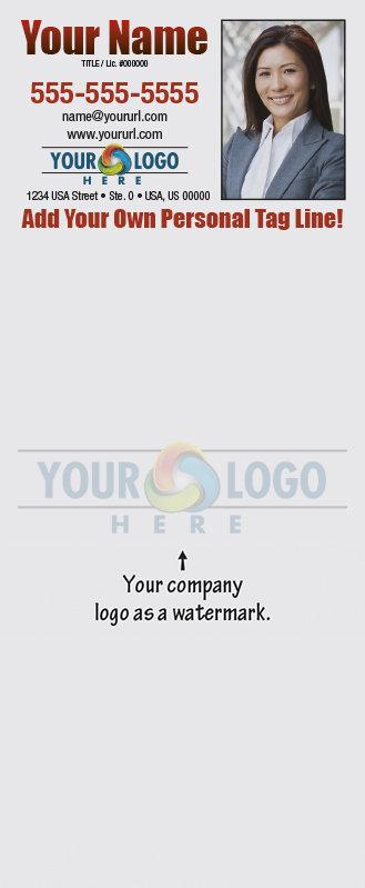 Full Color Custom Notepads | Logo as Watermark
