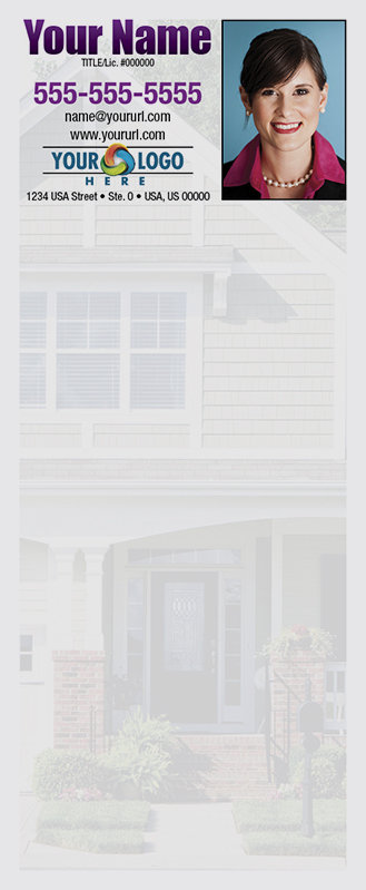 Full Color Custom Notepads | House with Paved Steps