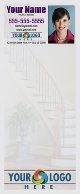 Full Color Custom Notepads | Stairs with Vase