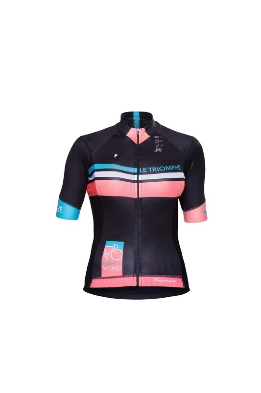 Short Sleeve Jersey - Le Triomphe Black