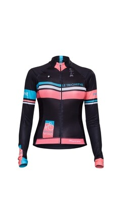 Long Sleeve Jersey - Le Triomphe Black