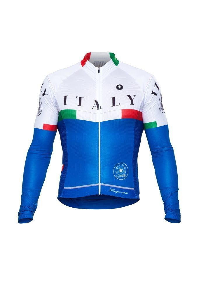 Long Sleeve Jersey  - Nations Italy