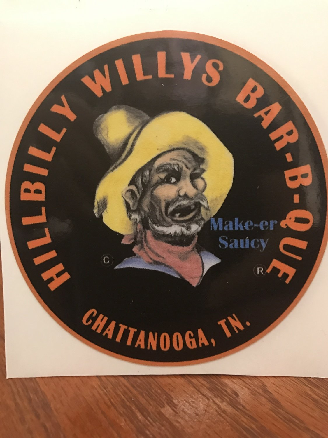 HillbillyWillys Bumper Sticker
