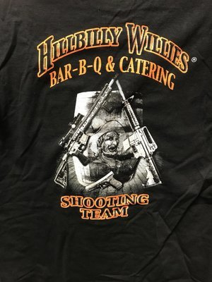 HillbillyWillys Shooting Team T Shirt