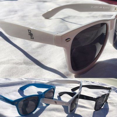 BE Sunglasses (Black, White, or Blue)