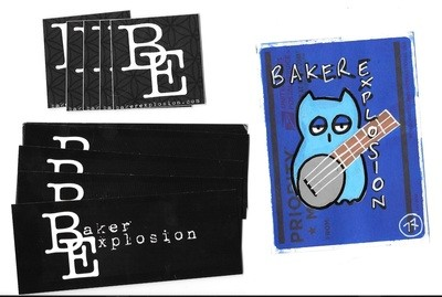 Sticker 10 Pack | plus bonus hand drawn