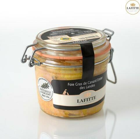 Kachní Foie gras celá, sklo, 330g