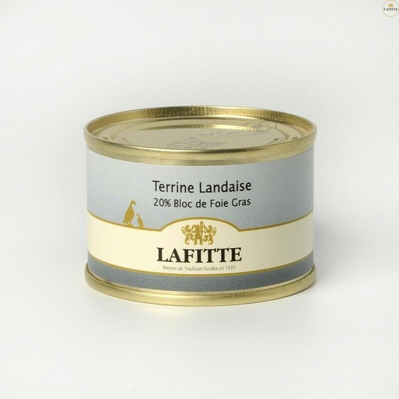 Terina z Landes, 20% blok Foie Gras