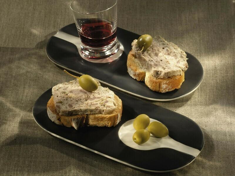 Tradiční paštika - s olivami