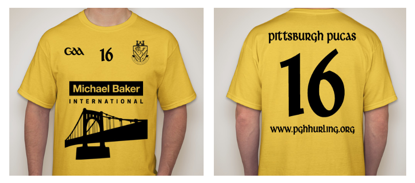 2016 Pittsburgh Pucas Supporter Shirt
