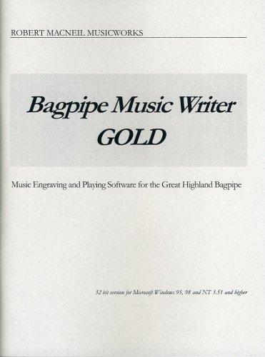 Bagpipe Music Writer Gold - Dealer