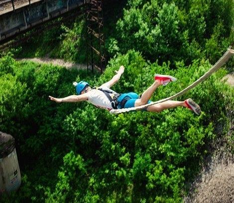 Прыжок с моста - Манихино. Всеми любимая классика!