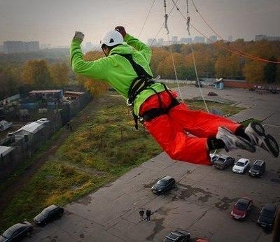 Одиночный прыжок с вышки - KRC Москва. Рекомендовано Новичкам!