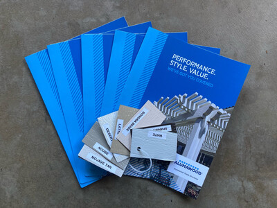 Color Chips and 5 Brochures