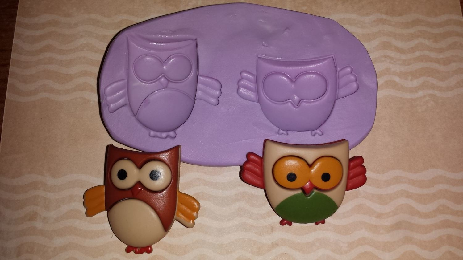 Mini Owl Mold Set