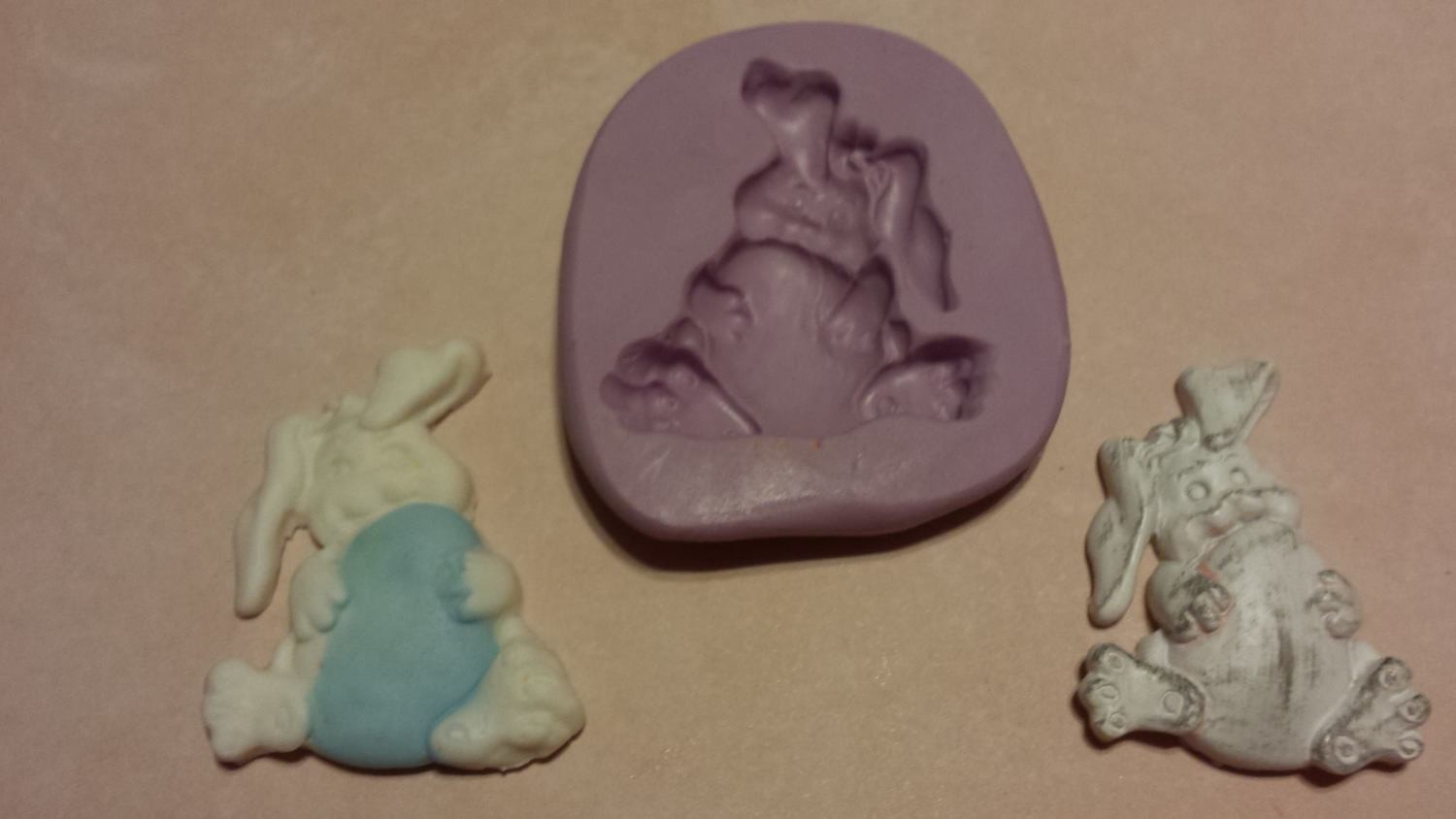 Bunny with Egg Mold