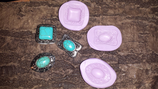 Western Jewel Mold Set