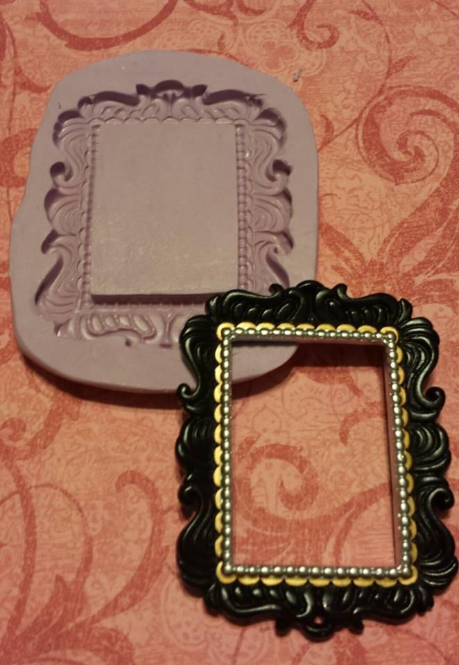 Fancy Rectangle Frame Mold