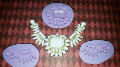 Three Part Swag Mold Set