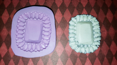 Rectangle Brooch Mold