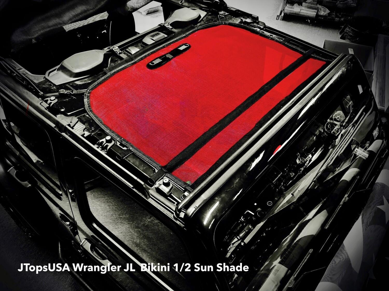 Wrangler JL / JLU  Bikini Sun Shade - Solid Color