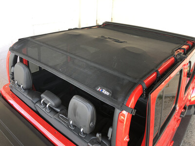 Jeep Gladiator FULL Sun Shade - Solid Color