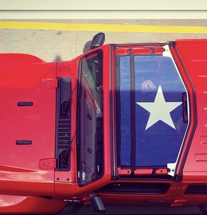 Wrangler JL/JLU BIKINI Sun Shade  - Texas Flag