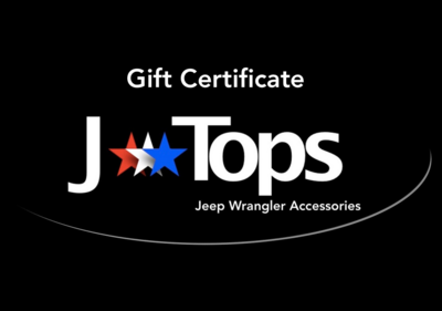 JTopsUSA Gift Certificates