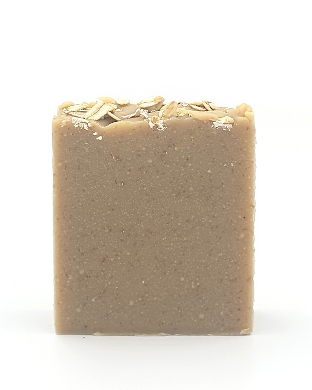 Oatmeal, Goats milk & Honey Soap - Medium