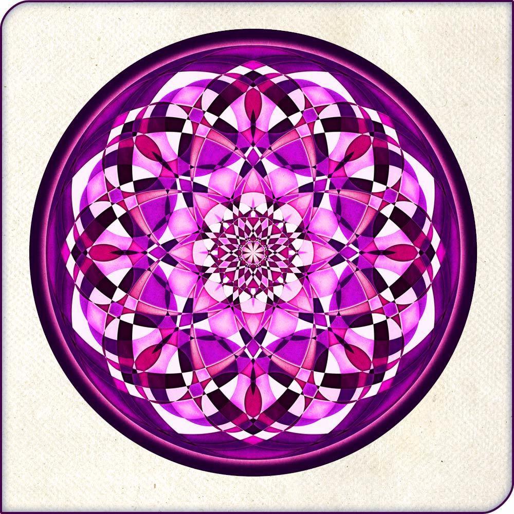 Sous-verre Purple power