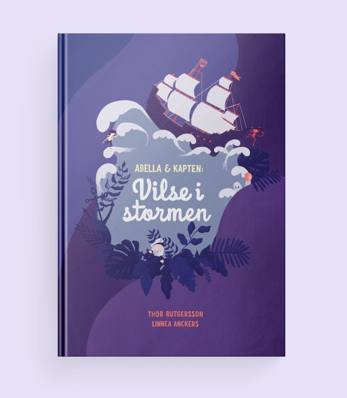 [Barnbok] Abella och Kapten: Vilse i stormen