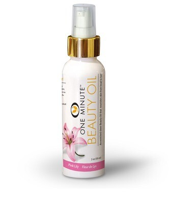 2oz Pink Lily Beauty Oil