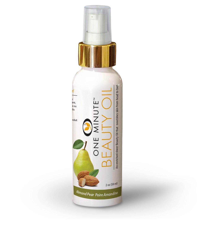 2oz Almond Pear Beauty Oil