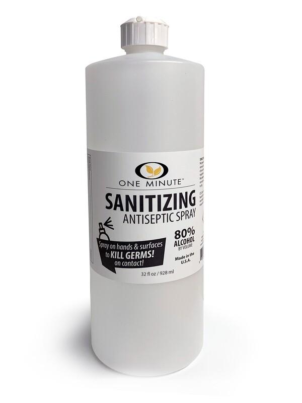 One Minute Sanitizing Antiseptic 32oz